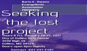 Seeking the Lost Project