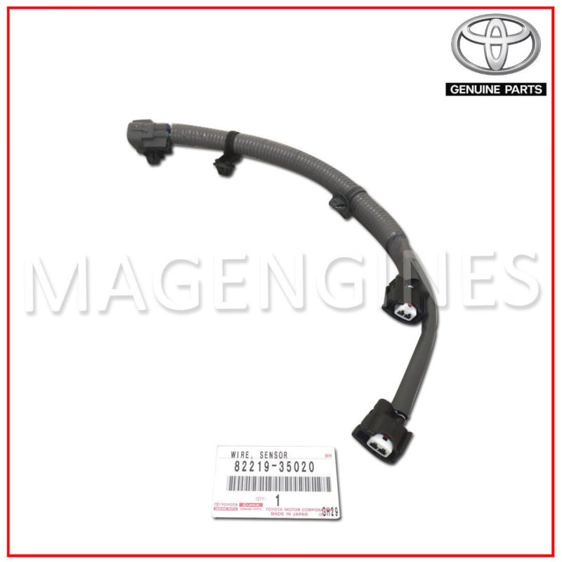 Toyota Knock Sensor Wire Harness Electrical Circuit Electrical