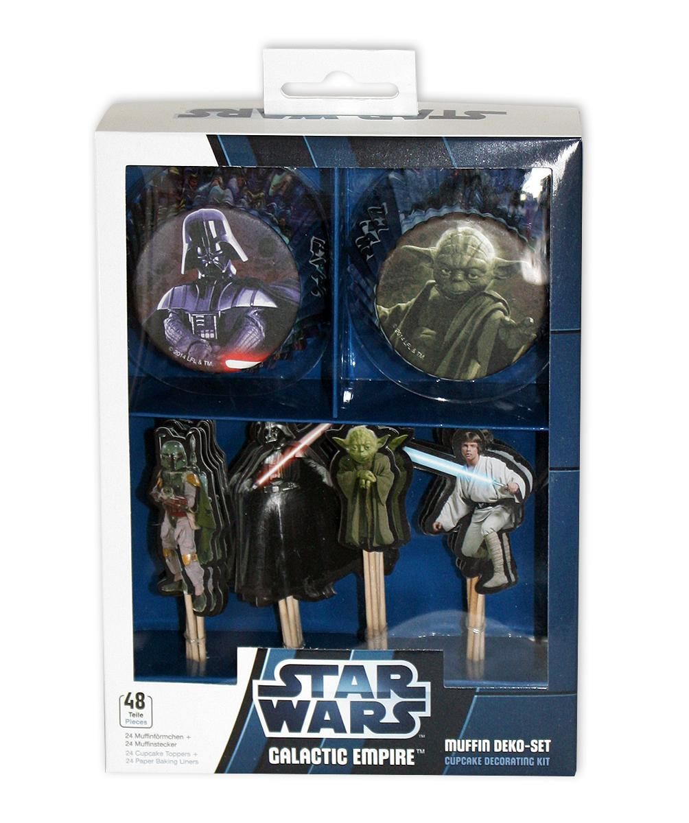 Star Wars Küchenhelfer Star Wars Muffin Dekoset Cupcake Kit