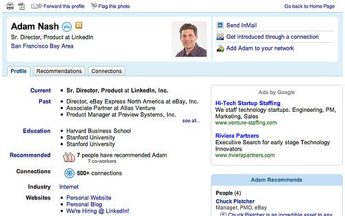 resume writer linkedin profile