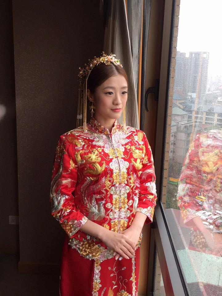 歌姬,前區瀏海,復古,指推波浪,中式裙掛,龍鳳頭飾