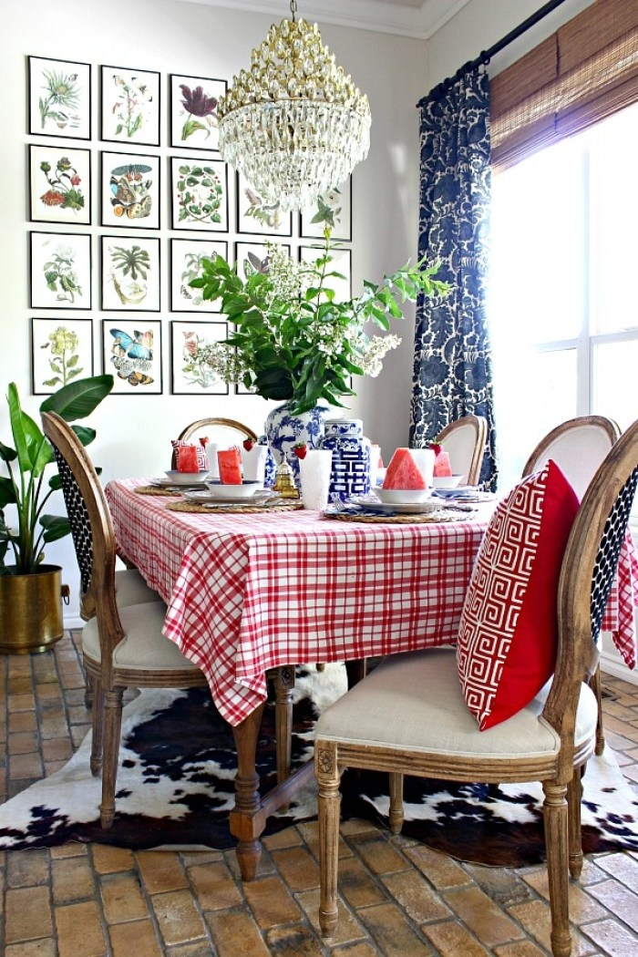 Fourth of July Tablescape 4