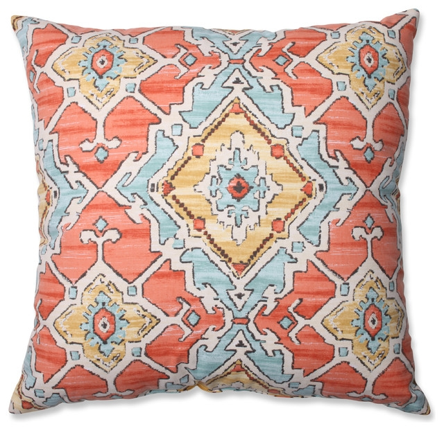 orange-ikat-rustic-floor-pillows-and-poufs
