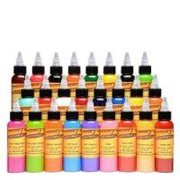 Basic Color Chart | Eternal Ink | Ttowierfarben | Farben ...