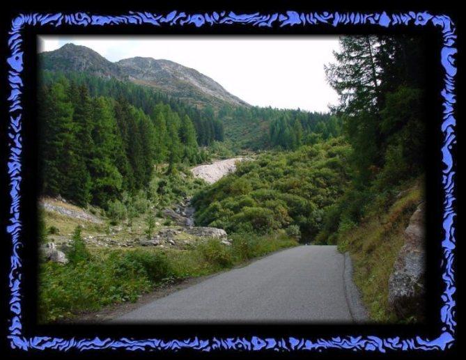 Way to Lengenbach mine