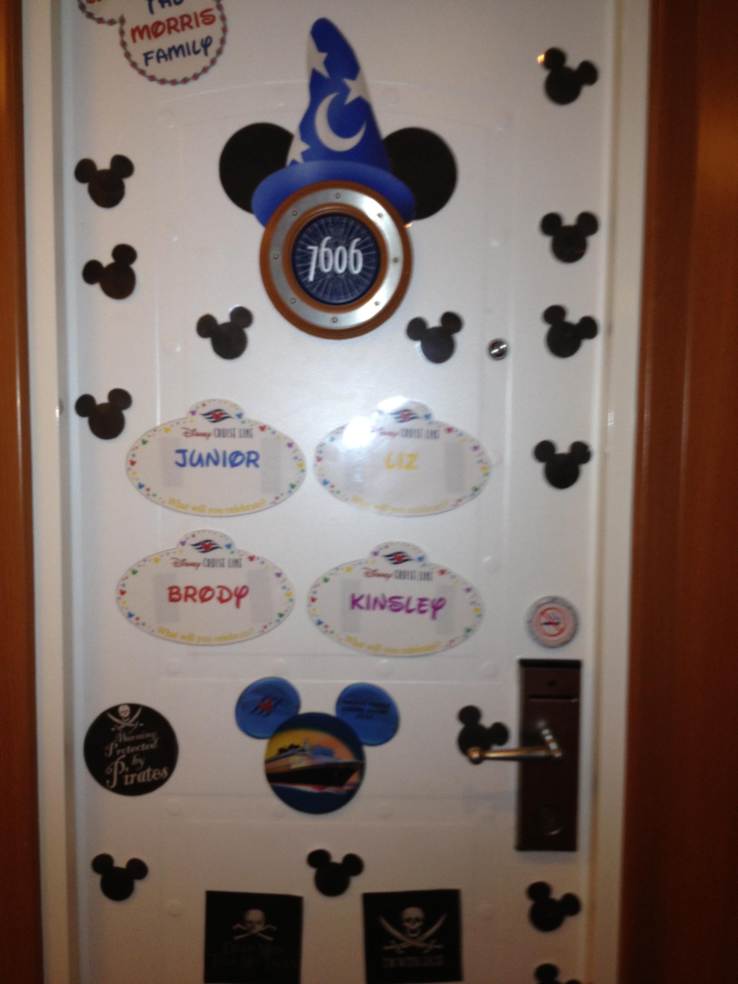 Disney Cruise Door Printables