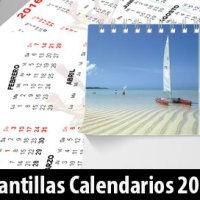 Pack Plantillas Editables Calendarios y Agenda 2016 Descargar Gratis