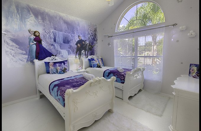 White Master Bedroom Magicalclubhouse.com: Themed Disney Vacation Pool Home In