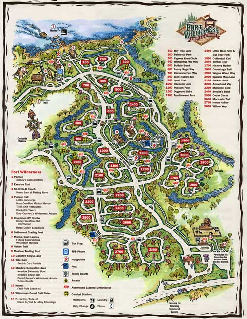 1000 Images About Disney Fort Wilderness Camp Grounds On