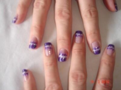 Acrylic Nail Designs Shellac