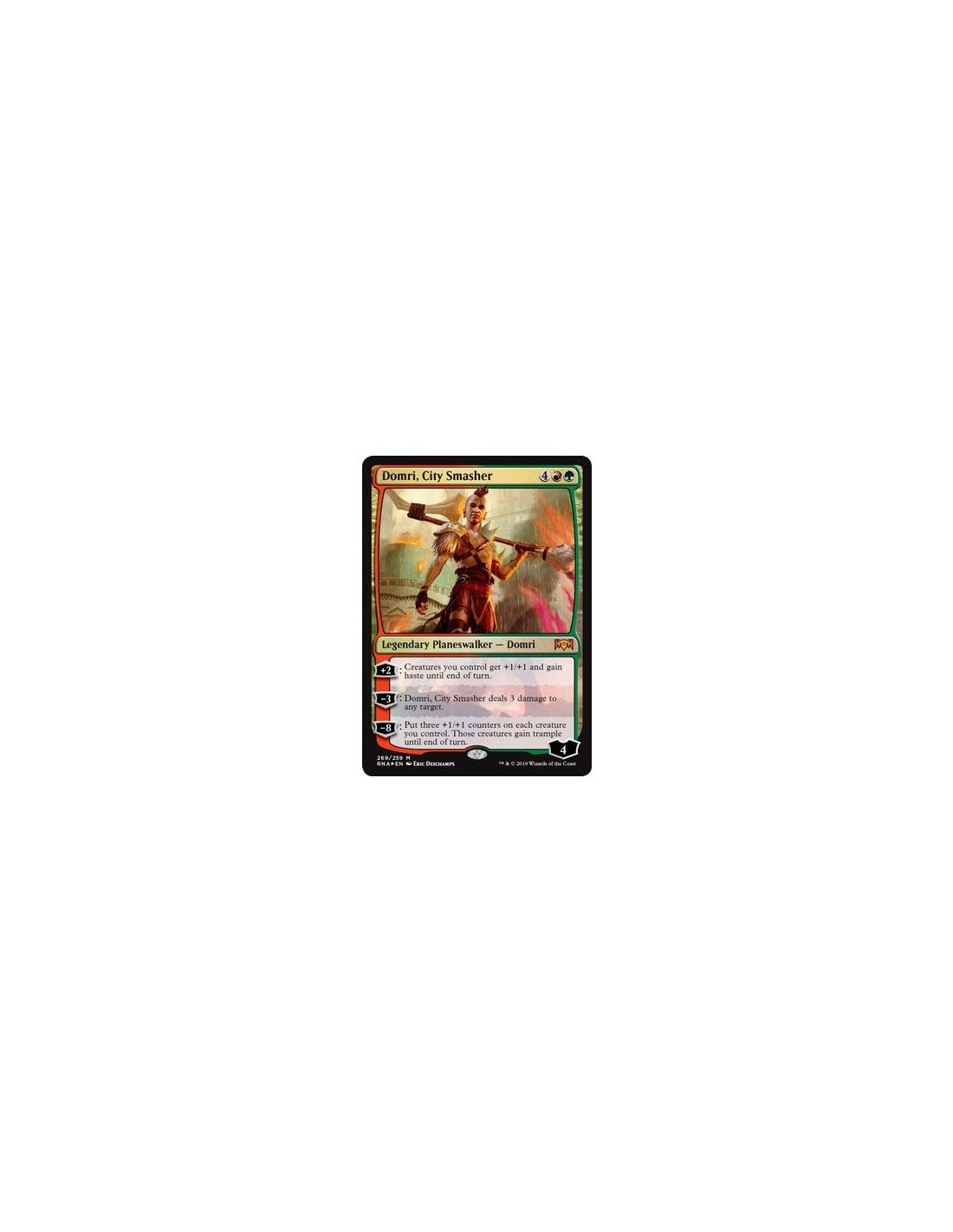 Libros De Magic The Gathering Mazo Planeswalker Deck Domri City Smasher La Lealtad De
