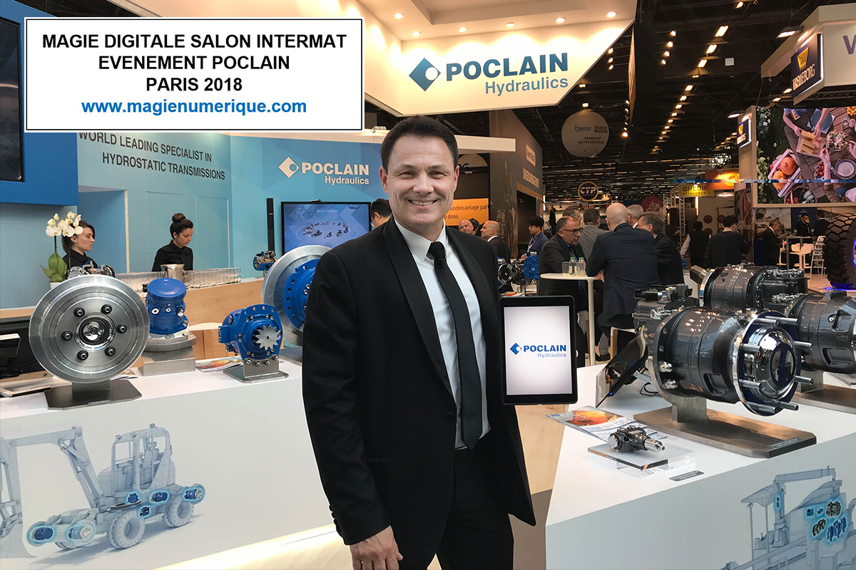 Salon Paris Avril 23 Avril 2018 Magie Numérique Poclain Salon Intermat