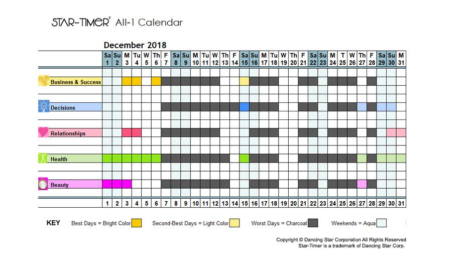 Personal Premium All-1 Calendar - Magihelena