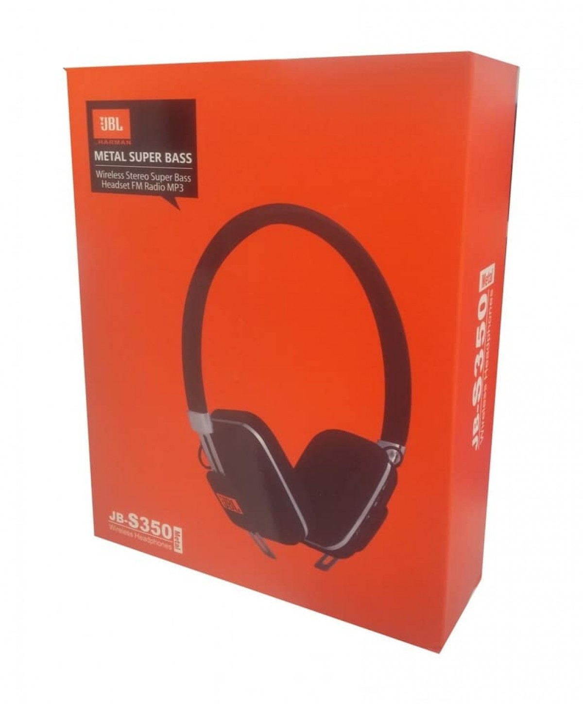 Jb Lighting Wireless Jbl Jb S350 Metal Super Bass Wireless Stereo Headphone With Fm
