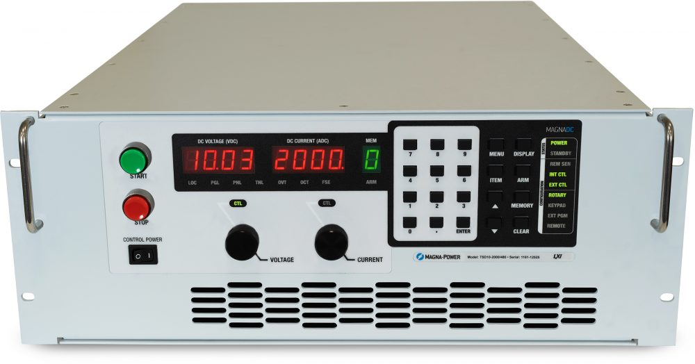 TS Series - High Power Programmable DC Power Supply, Air or Water