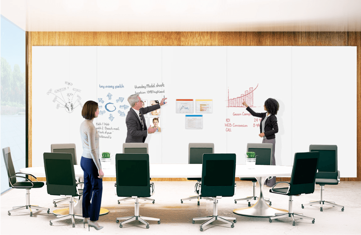 Turn A Wall Into A Whiteboard Magnetic Whiteboard Wall Dry Erase Wall Paneling Whitewalls