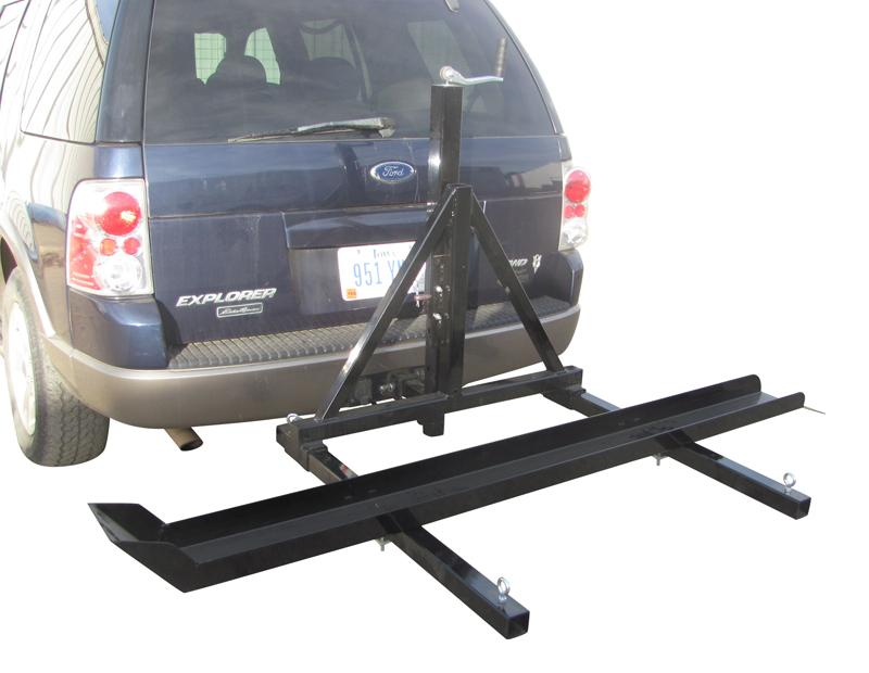 Camper Trailer Motorbike Carrier With Fantastic Styles In