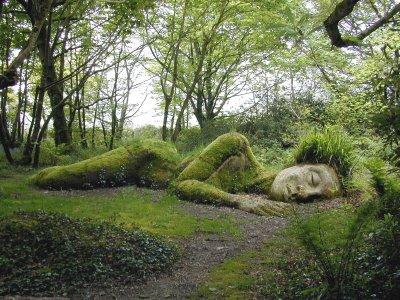 Lost Gardens Of Heligan Sculptures
