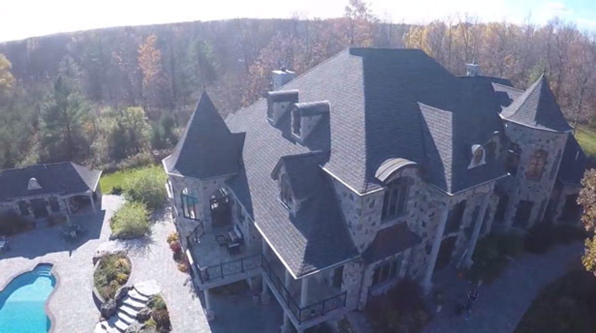 Sweet Home Paris Take An Aerial Tour Of Deadmau5' New Mansion - Magnetic