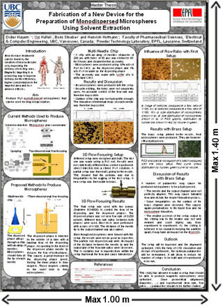 Scientific and Clinical Applications of Magnetic Carriers - scientific poster layouts