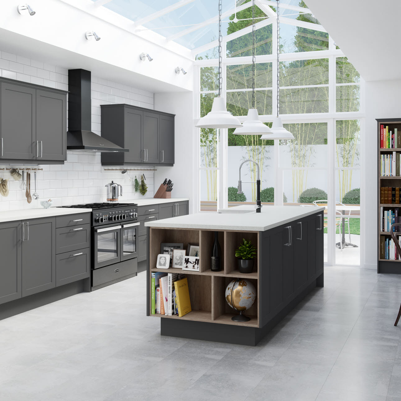 Photos Of Gray Kitchen Cabinets Winchester Grey Kitchen Style And Range Magnet Trade