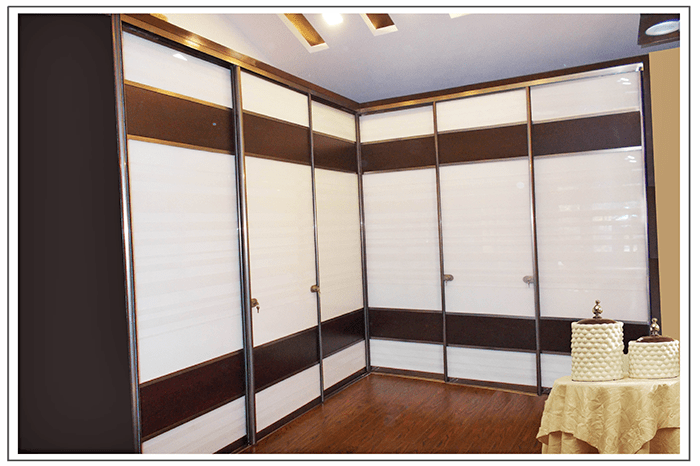 How To Get Into Interior Decorating White-brown-textured-wardrobe - Magnon India | Best