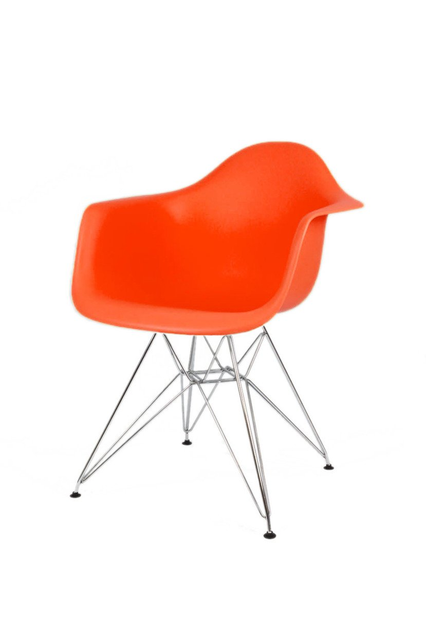 Sk Design Kr012f Orange Sessel Chrom Orange Me1