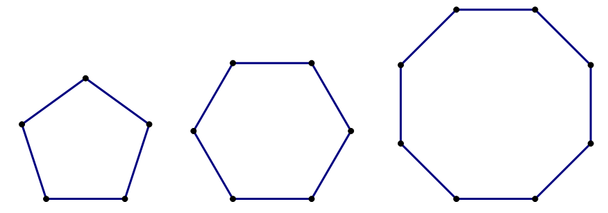 how to make a regular octagon