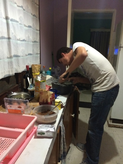Cooking in Arusha
