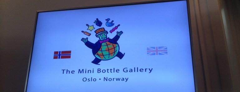 The Mini Bottle Gallery in Oslo, Norway