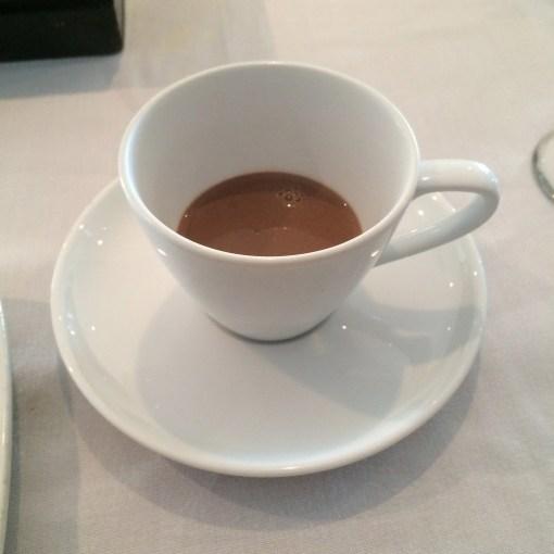 Hot Chocolate at Benazuza in Cancun, Mexico