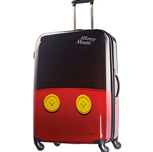 Mickey Mouse suitcase from Ebags.com