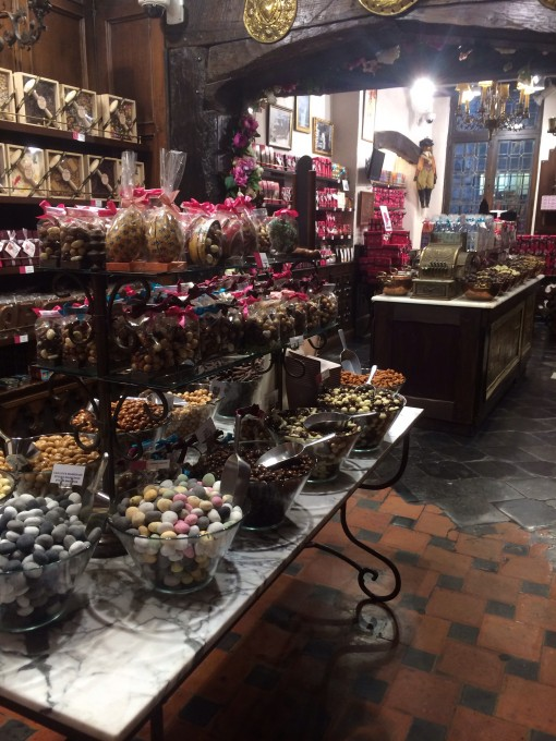 Belgian Chocolate in Brussels