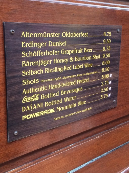 Germany- Drinking around the world at Epcot