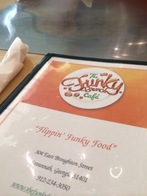 The Funky Brunch Cafe in Savannah, GA