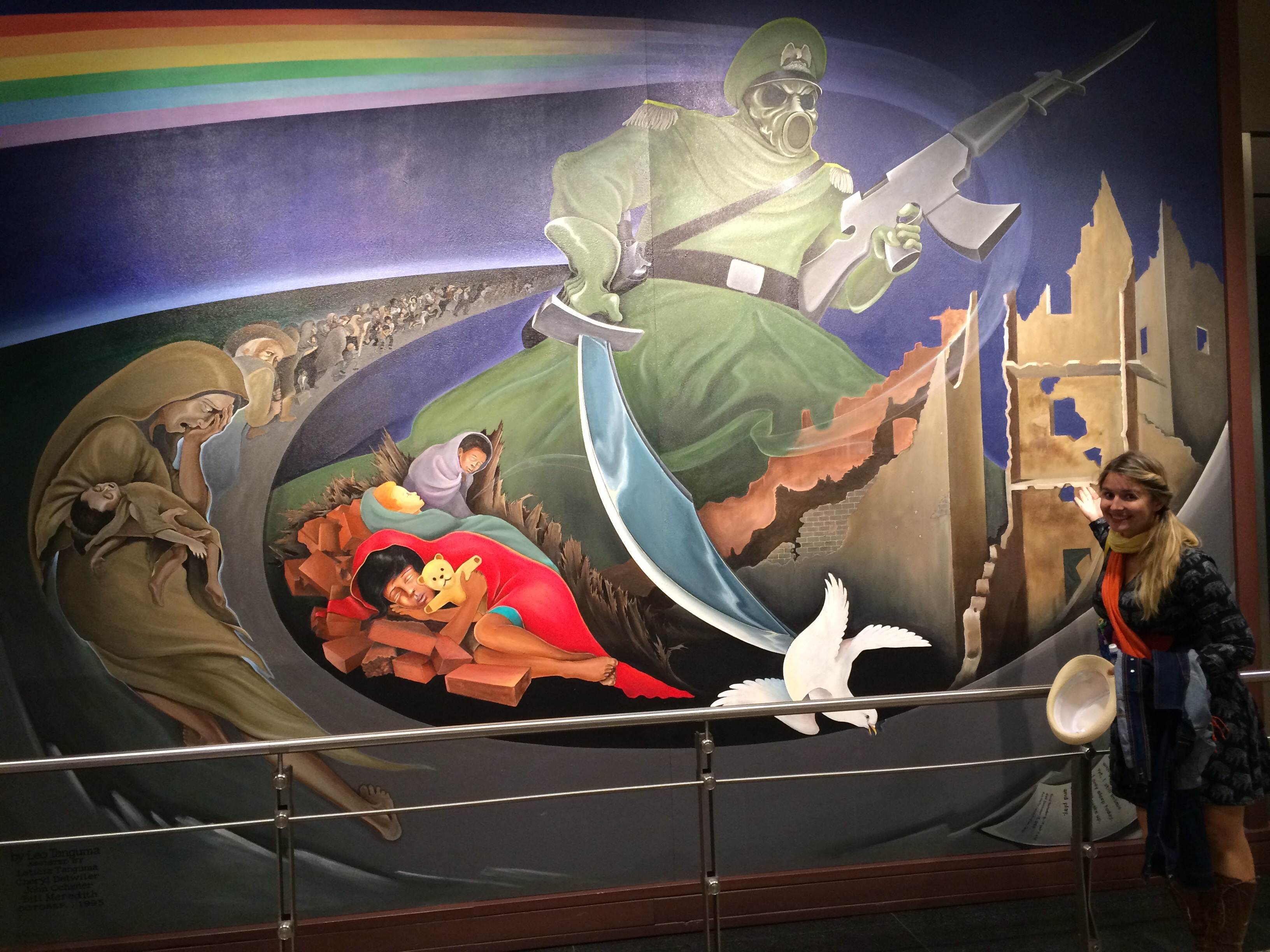 Wtf is going on at the denver airport mags on the move for Denver airport mural