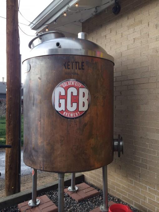 Golden City Brewery in Golden, CO
