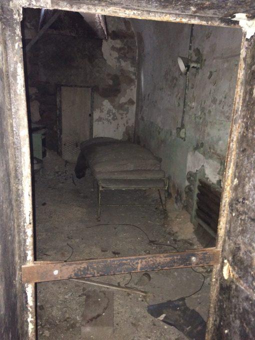 Cell inside of the Eastern State Penitentiary in Philadelphia