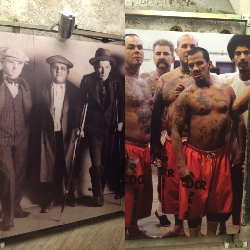 A side by side at the Eastern State Penitentiary highlighting the stark decline is sexiness among prison gangs through the years.