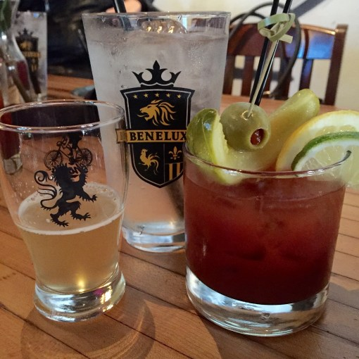 Bloody Mary with a beer chaser, a Milwaukee staple