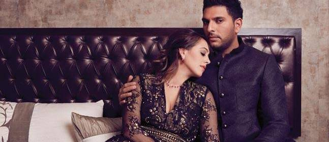 Yuvraj Singh Hazel wedding in Chandigarh Goa