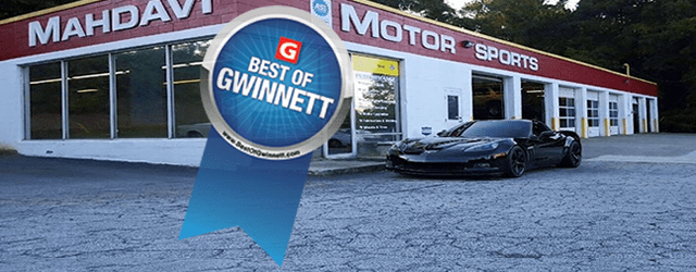 "Mahdavi Motorsports has been voted ""Best of Gwinnett"" seven years in a row and ""Best of Lilburn"" five years in a row. Click on the Best of Gwinnett website snapshot […]"
