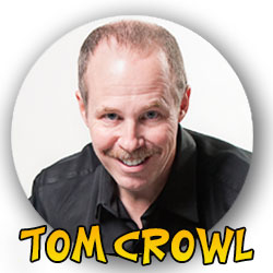 comedy ventriloquist Tom Crowl