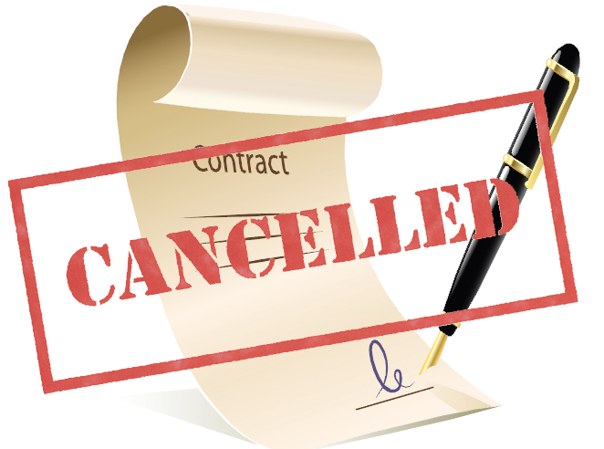 Termination of Contract maheshspeak