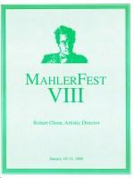 MahlerFext VIII - 1995 Program Book