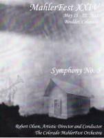 MahlerFest XXIV - 2011 Program Book