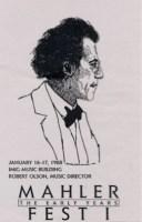 MahlerFest I - 1988 Program Book