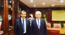 Kumluca Belediye Başkanı Hüsamettin Çetinkaya Bey i Ziyaret Ettik
