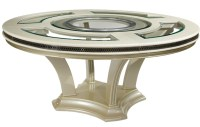Dining Table: Modern Round Dining Table 72