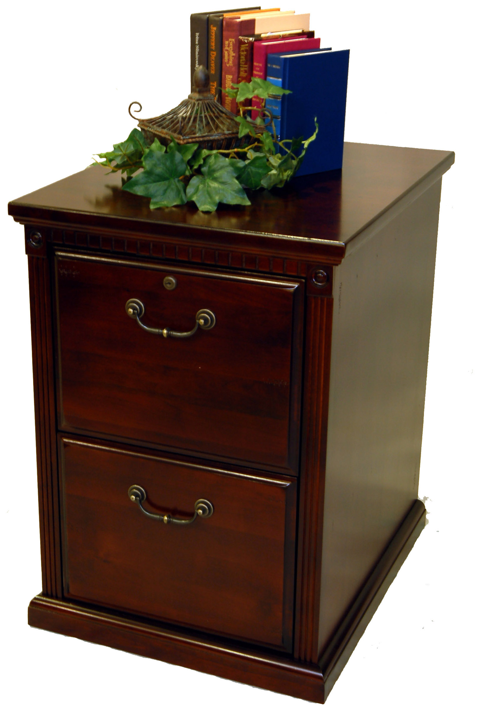 2 Drawer File Cabinet Cherry 2 Drawer Locking Office File Cabinet Wood